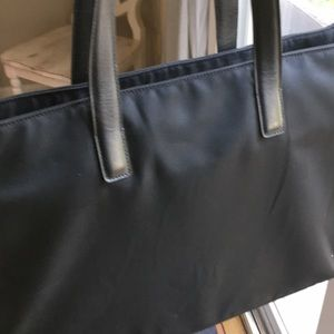 Coach laptop vinyl bag
